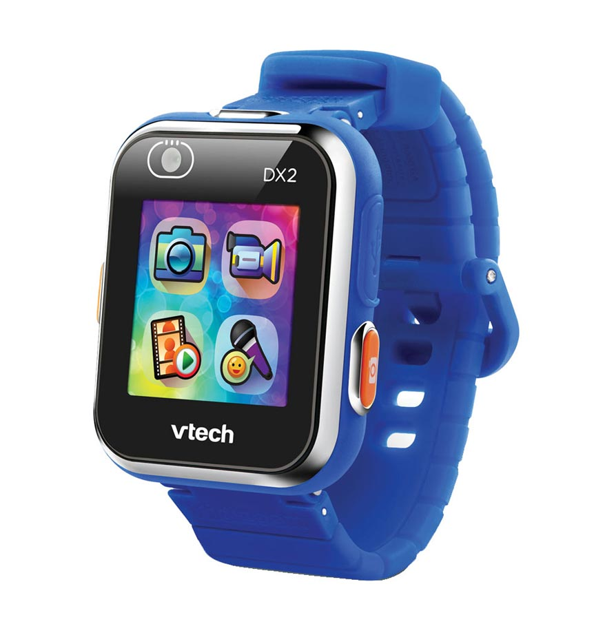 montre connectée enfant vtech Dx2 bleue pour garçon